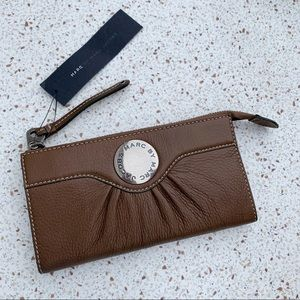 Marc by Marc Jacobs Leather Zip LG Wallet Clutch